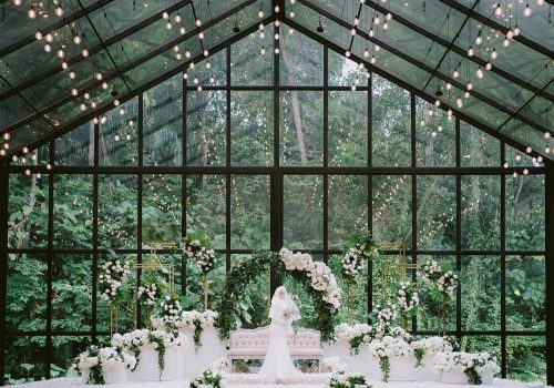 forest valley Malaysia wedding venue hall glass house forest green nature