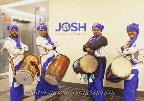 Indian music wedding performance
