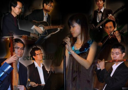traditional chinese live band